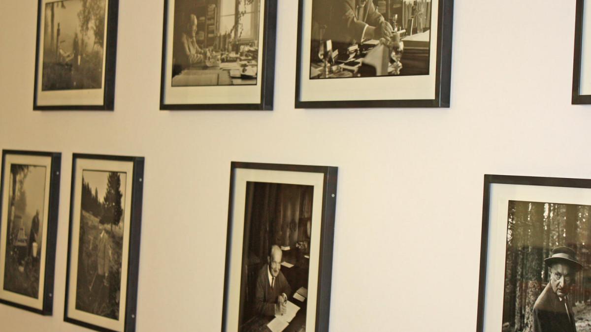 Innenansicht Martin-Heidegger-Museum