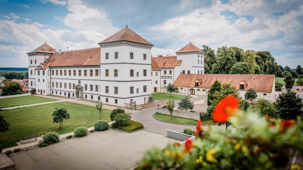 Außenansicht Schloss Meßkirch